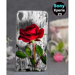 Sony Xperia Z3 Rose Style Case SA-3867 Multi Color