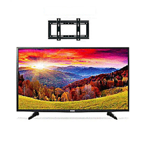 Icon 32 Inch HD LED TV With Wall Mount Black
