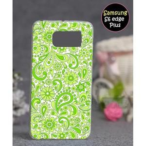 Samsung S6 Edge Plus Mobile Cover Floral Style SA- ...