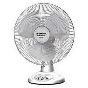Sogo Rechargeable Stand Fan Jpn- 676 7000 mAh White
