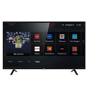 TCL 40 Inches 40S62 Smart HD LED TV Black