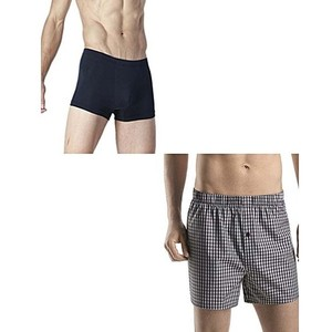 Fashion Icon Pack Of 2 Cotton Boxer Shorts For Men ...