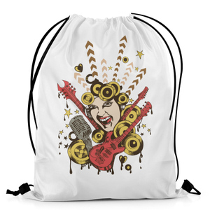 The Warehouse The Music Lady Drawstring Bag DB-M001799 Multicolor