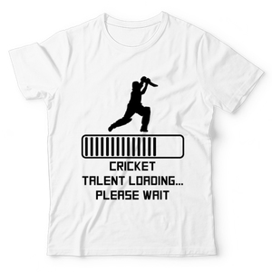 The Warehouse Cricket Talent Loading Please Wait Graphic Printed T-Shirt For Kids White