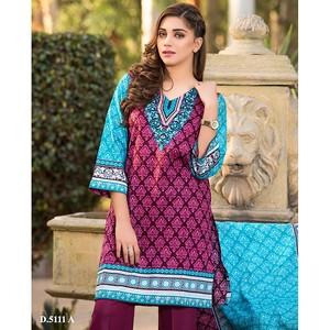 4 Pieces Unstitched Sapna Lawn Suit 5111-A for Wom ...