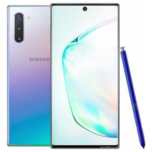 Samsung Galaxy Note 10   Dual Sim   8 GB RAM   256 GB ROM   Aura Glow Silver