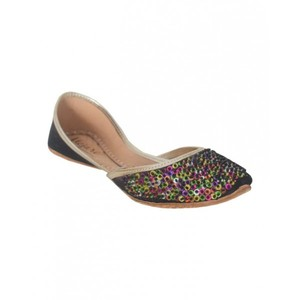 Khussa For Women SS-056 Black Multi