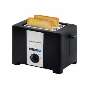 Westpoint 2 Slice Toaster WF-2561 Black