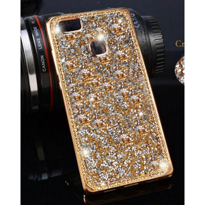 Huawei P9 Lite Fancy Style Mobile Back Cover Golden