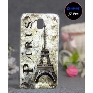 Samsung J7 Pro Soft Cover Eiffel Tower SA-5580 Gre ...