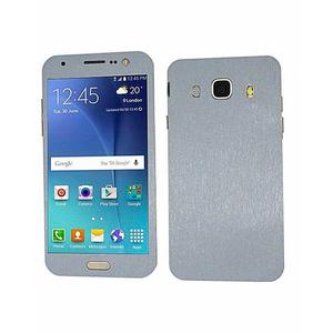 Samsung Galaxy J5 2016 3M Brushed Metal Texture Mobile Skin Silver