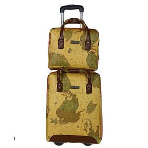 Hand Carry Trolley Bag & Hand Bag Mustard &amp ...