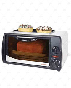 Westpoint 800WDeluxe Grilling Oven Toaster with Hot Plate WF1000D Black & White