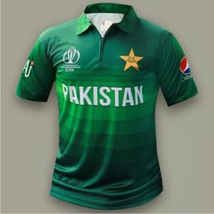 Pakistan Cricket Team T Shirt 2019 Green