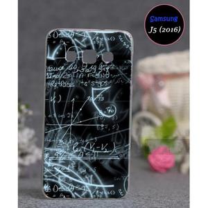 Math Style Cover For Samsung J5 2016 SA-1707 Black & Blue