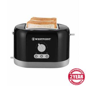 Westpoint 2 Slice Toaster WF-2538 Black