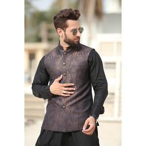 Al-Satir Traditional Waist Coat for Men WC903 Blac ...