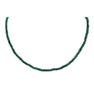 Zed Eye Creations Slay iT Necklace For Women LCN003b Green
