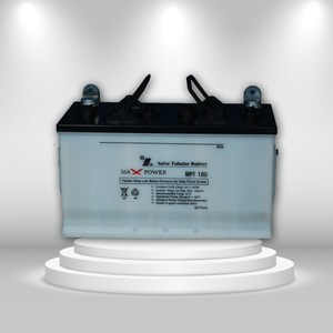 Max Power MPT180 Tubular Battery (12V 80Ah/20HR)