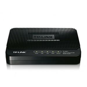 TP-LINK TD-8817 ADSL2+ Ethernet/USB Modem Router