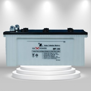 Max Power MPT240 Tubular Battery (12V 100Ah/20HR)