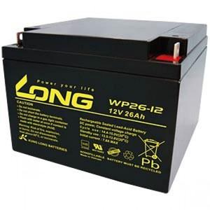 Long Lead-fleece battery 12V 26AH