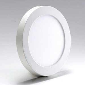 Opera LED Surface Panel Light - 6Watt - Round - White