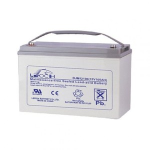 Leoch Battery - LP Series - 12 V - 100 AH - T3 Terminal