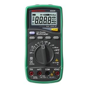 Mastech MS8209 5 in 1 Multimeter with High accuracy and resolution on all ranges  Enviormental Tester + Multi Function DMM