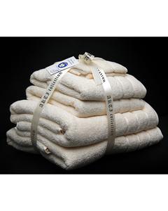 Alkaram Towel 6 - Piece Towel Set - Cream