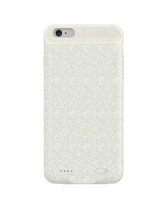 Power Bank Charger Case For iPhone 7 Plus - 3650 mAh - White