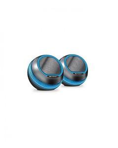 Audionic Octane U - 15 Portable 2.0 Speaker Set - Black
