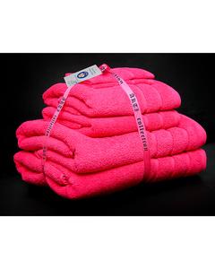 Alkaram Towel 6 - Piece Towel Set - Pink