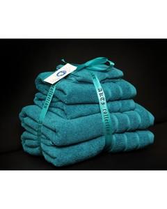 Alkaram Towel 6 - Piece Towel Set - Turquoise