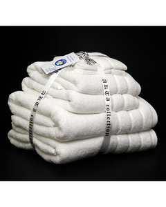 Alkaram Towel 6 - Piece Towel Set - White