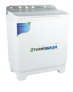 Kenwood Semi Automatic Washing And Dryer Machine KWM-1012 - 10kg - White