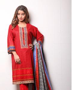 Sahil Cotton - Winter Collection Unstitched 3Pcs - Vol-1-5A