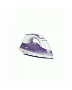 Black And Decker X1015 - Steam Iron - White And Purple