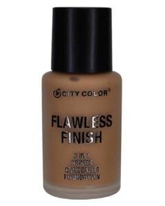 City Color Flawless Finish 3 In 1 Primer - Concealer Foundation - Chestnut