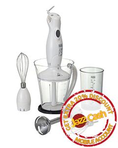 Black And Decker - Sb 3220 - Stick Hand Blender With Stainless Steel Blender - White