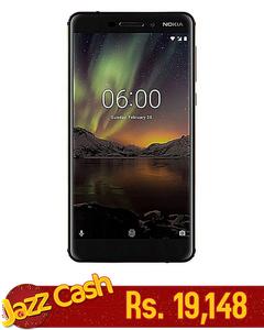 Nokia 6.1 - 5.5 - 32GB - Black Copper