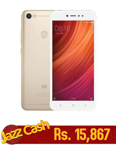 Mi Note 5A Prime - 5.5 - 3GB - 32GB - Gold