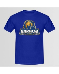 Aybeez Royal Blue Karachi King T-Shirt For Men - Abz-990