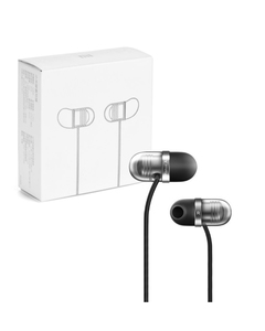 Original Mi In Ear Capsule Piston Air Earphone - Black