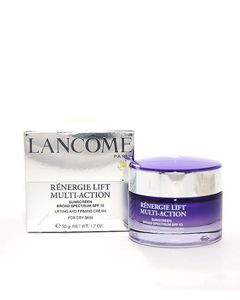 LANCOME Renergie Lift Multi-Action Sunscreen Broad Spectrum SPF 15 Lifting And Firming Cream For Dry Skin
