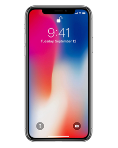Apple iPhone X - 5.8 - 256GB - Silver - PP