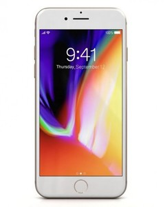 Apple iPhone 8 - 4.7 - 256 GB - With Face Time - Gold