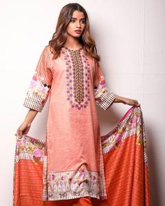 Sahil Cotton - Winter Collection Unstitched 3Pcs - Vol-1-4B