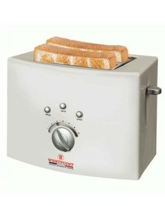 Westpoint WF-2540 - Deluxe 2 Slice Pop-Up Toaster - White