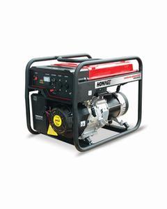 Homage Generator 3.00 KVA - HGR-3.03 KV-D - Black And Red